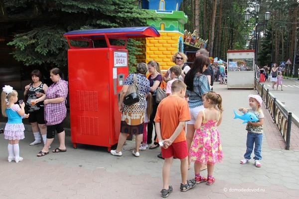 Парк Ёлочки в Домодедово. Автомат с газированной водой