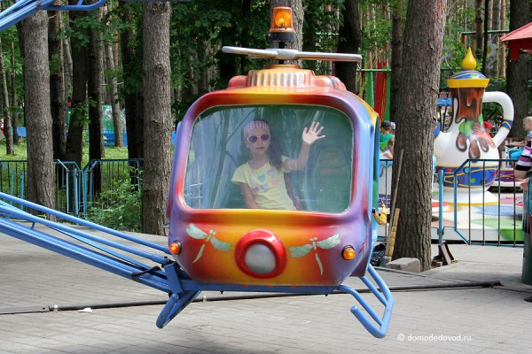 Парк Ёлочки в городе Домодедово5102