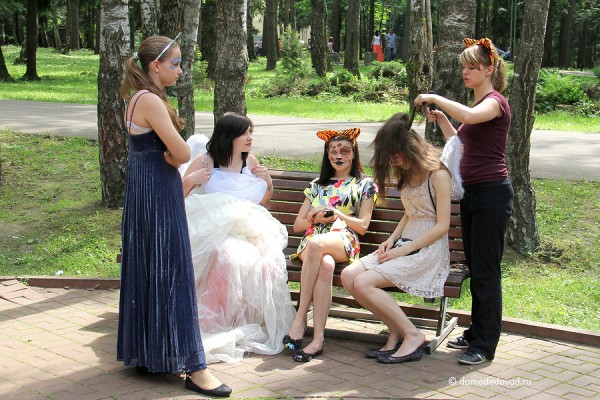 Парк Ёлочки в городе Домодедово5136