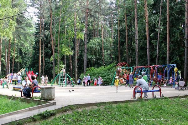 Парк Ёлочки в городе Домодедово5138