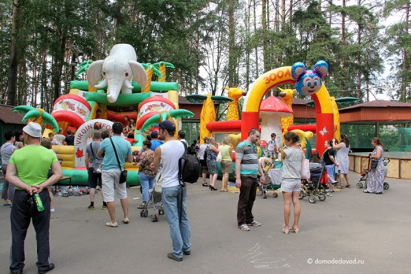 Парк Ёлочки в городе Домодедово5192