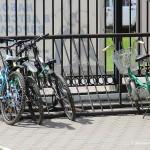 Велопарковка в парке Елочки
