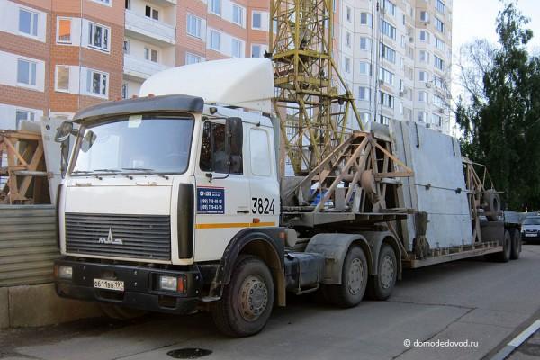 Панелевоз СУ-155