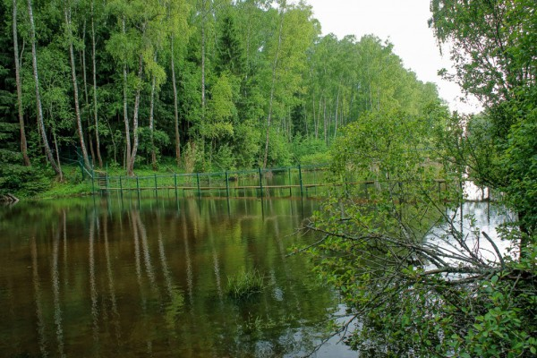Река Злодейка в Домодедово