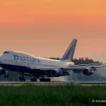 Boeing-747 авиакомпании Трансаэро
