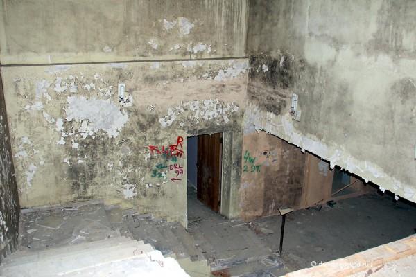 """Усадьба """"Константиново"""". Лестница в подвал."""
