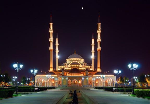 Мечеть имени Ахмата Кадырово. Автор фото: Тимур Агиров. Фото предоставлено Чеченским отделением РГО
