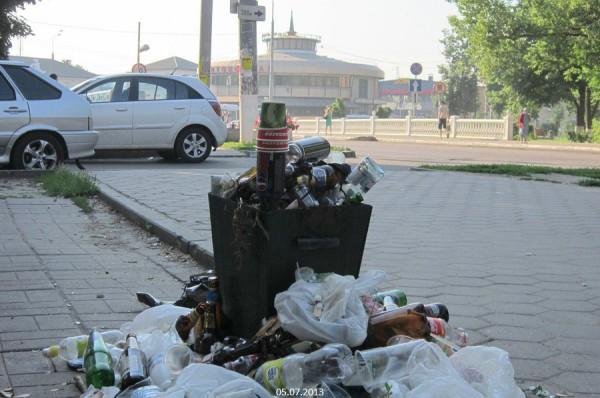 Мусорка в Домодедово