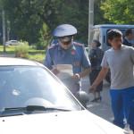 Операция по задержанию таксистов-нелегалов