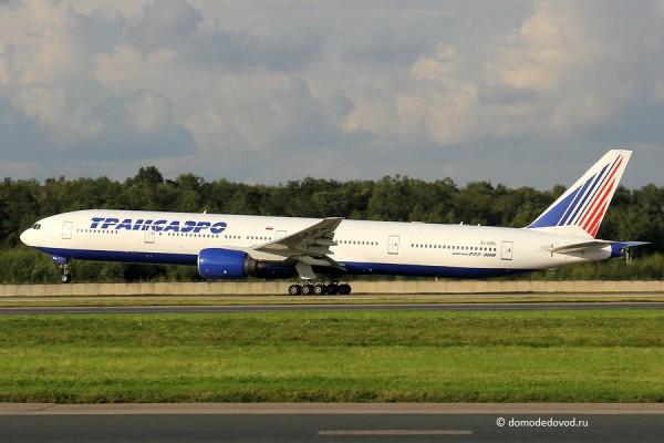 Boeing-777 авиакомпании Трансаэро