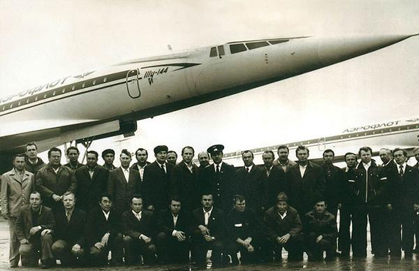 Ту-144 в Домодедово