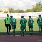 Футболисты команды Совета депутатов