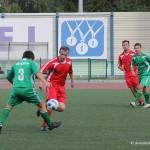 Футболисты команд Администрации и Совета депутатов