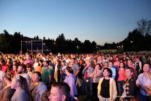 Праздничный концерт в Авиагородке