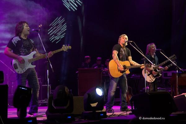 Группа Smokie. Концерт в Домодедово
