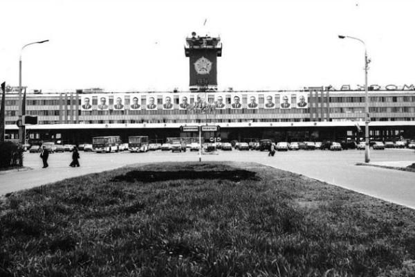 Аэропорт Домодедово 1967 год