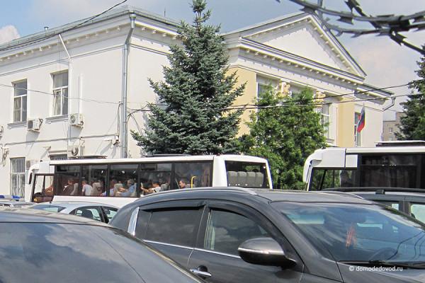 Гастарбайтеры доставлены в полицию Домодедово