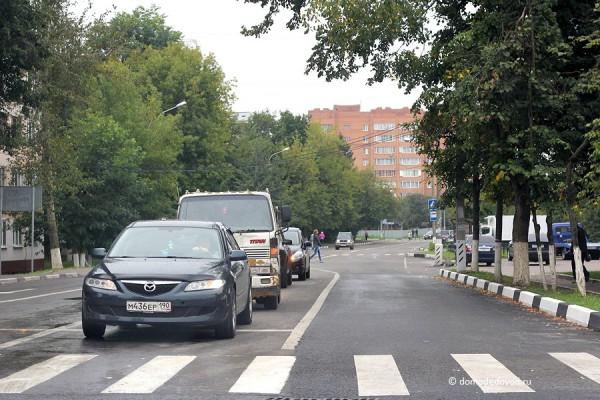 Домодедово. Перекресток Кутузовского проезда и Каширского шоссе
