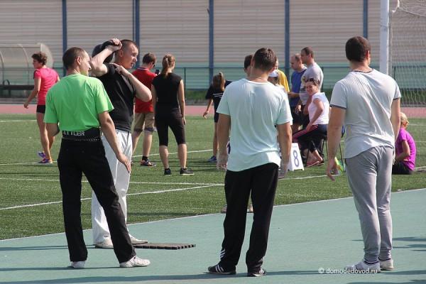 Спартакиада на стадионе Авангард