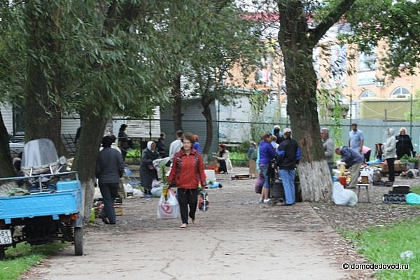 Придорожная торговля в Домодедово