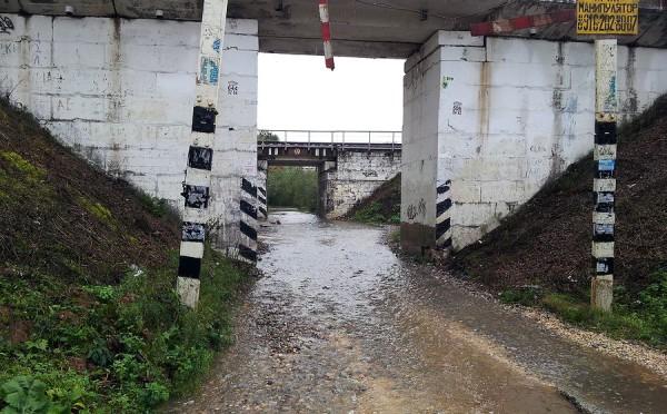 Дорога в деревню Буняково