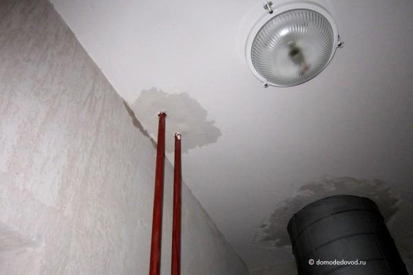 Потолок на предпоследнем этаже