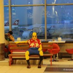 Самый знаменитый пассажир аэропорта Домодедово