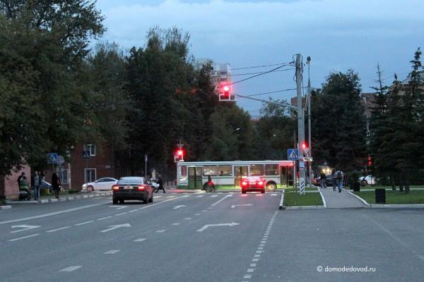 Разметка на Кутузовском проезде