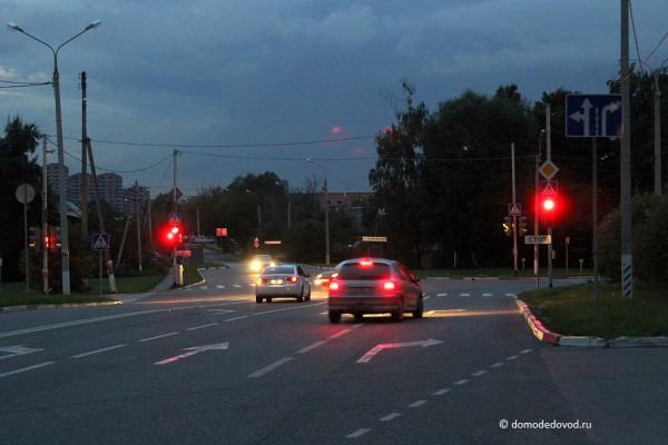 Перекресток Кутузовского проезда и улицы Кирова