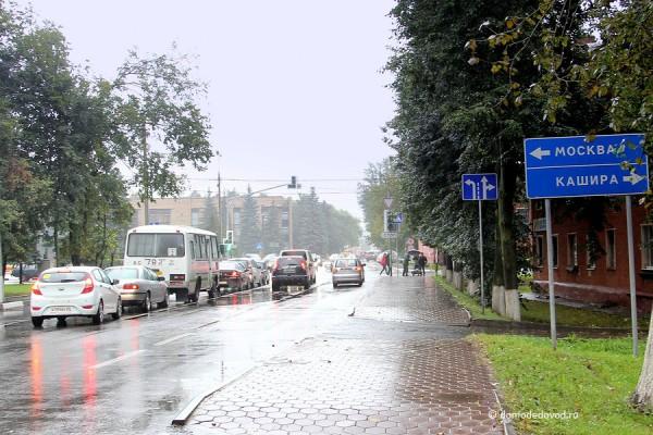 Перекресток Кутузовский проезд - Каширское шоссе