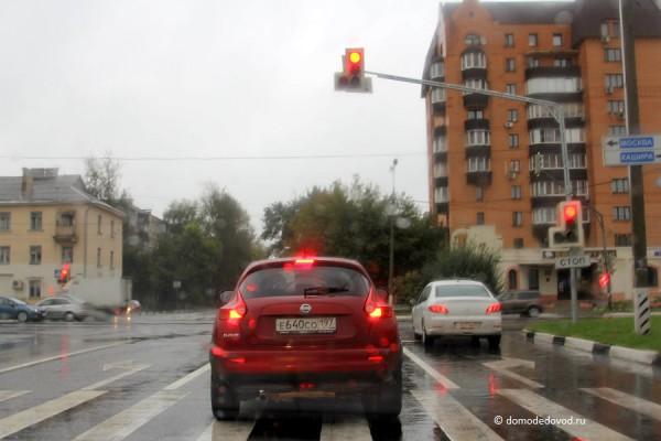 Перекресток улица Коломийца — Каширское шоссе