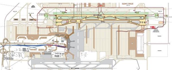 Проект строительства взлетно-посадочной полосы в аэропорту Домодедово