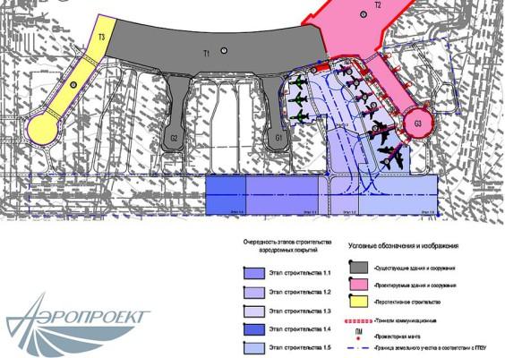 Новая схема расстановки воздушных судов