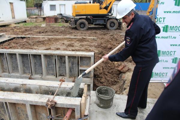 Строительство кинологического центра в Домодедово