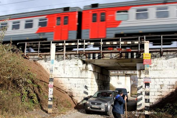 Прокол под железной дорогой в Буняково