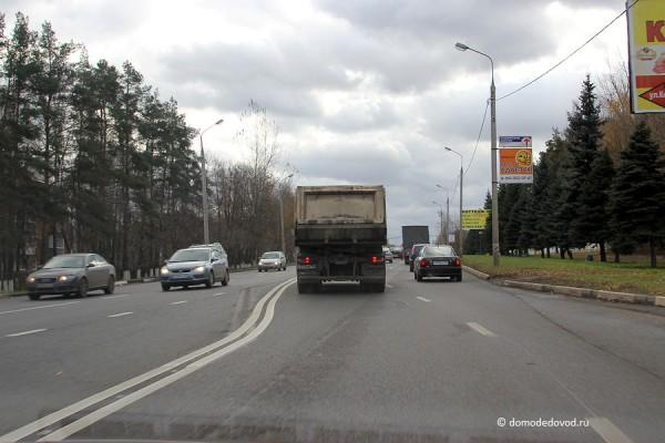 Каширское шоссе от улицы Талалихина в область