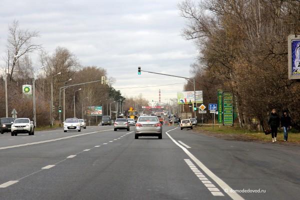 Светофор на повороте на Грин Парк из области