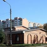 Вид на новостройку Гюнай на улице Текстильщиков с дороги