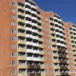 Разноцветные балконы