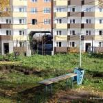 Детская площадка возле общежития
