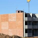Постороены три этажа нового дома на Текстильщиков