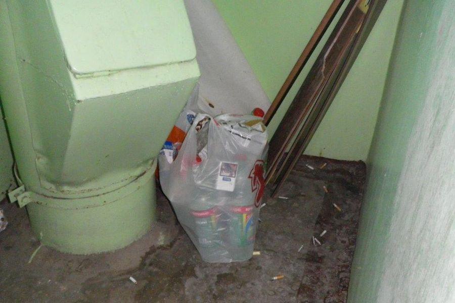 Картинки по запросу ставят мусор у подезда