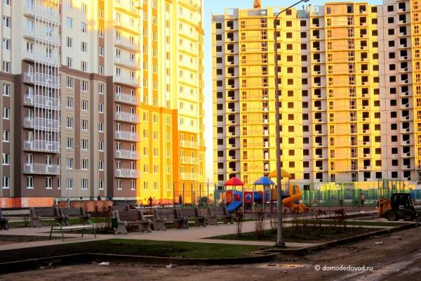 Новое Домодедово. Детские площадки.