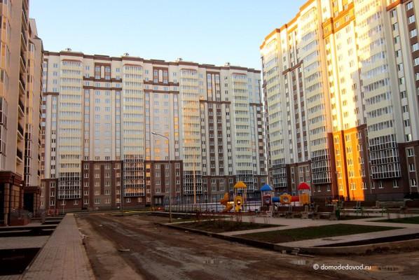 Новое Домодедово. Общий вид внутри.