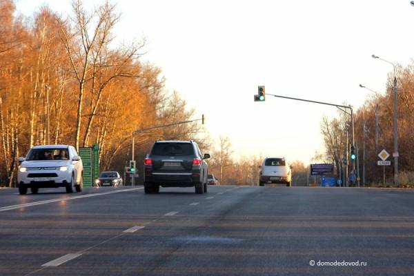 Разметка на Каширском шоссе