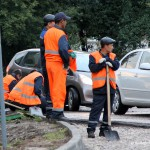 Ремонт дороги в Домодедово