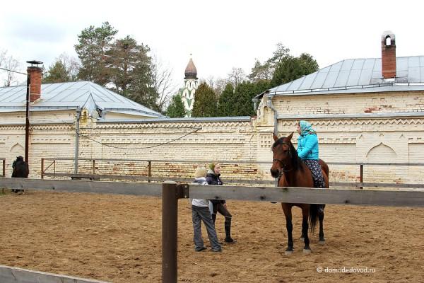 Конное подворье Серафимо-Знаменского скита