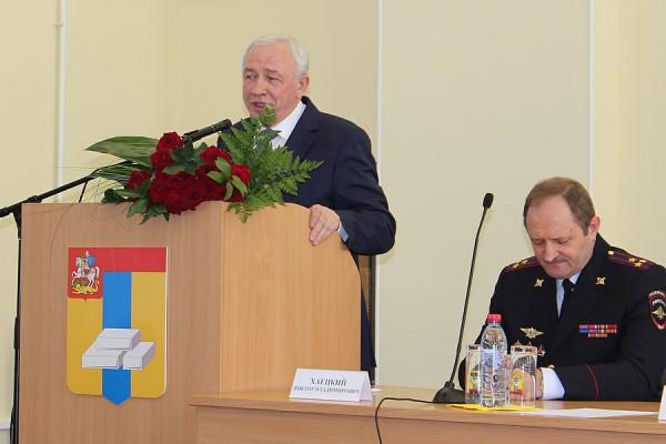 Бывший руководитель полиции Домодедово Хаецкий