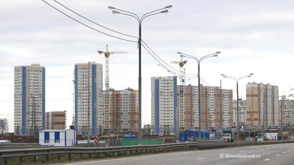 ЖК «Южное Домодедово». Застройщик СУ-155. Ноябрь 2013 года