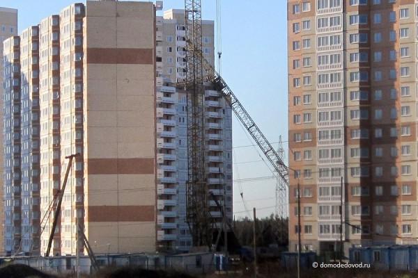 Упавший кран в «Южном Домодедово». Застройщик СУ-155